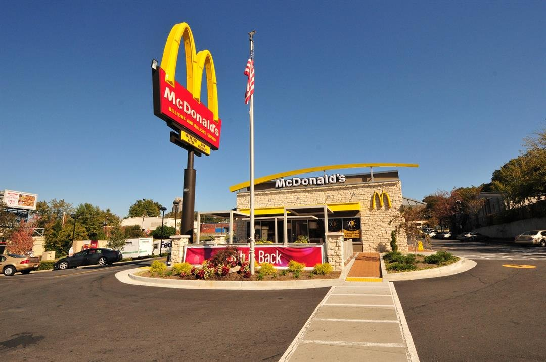 [FILE] An exterior photograph of a new style McDonald's Restaurant in Atlanta, Georgia.