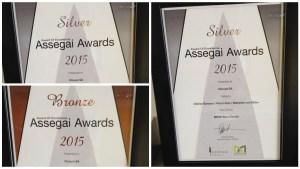 Vizeum Assegai Awards collage