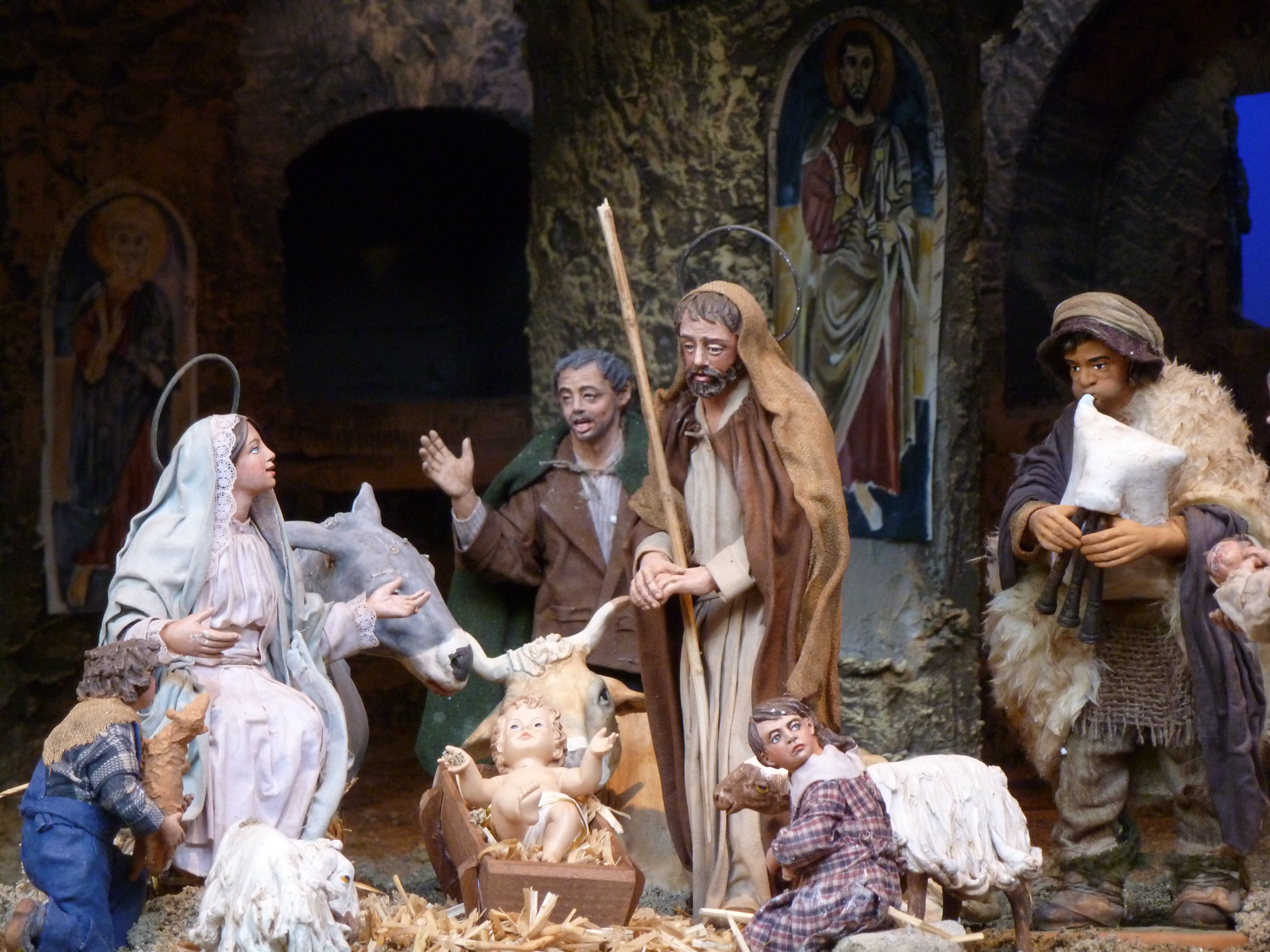 Come See The Nativity Scene In St Peters Square CNS Blog