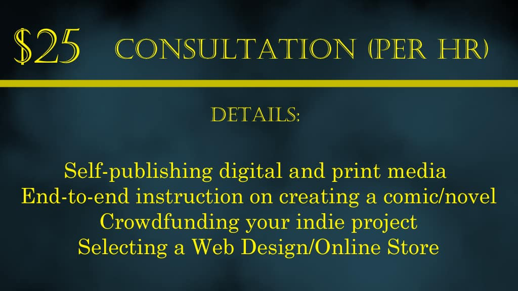 Consultation services banner