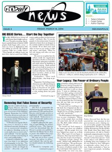 Print show daily sample