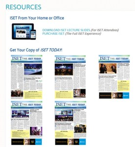 Posting show daily digital issues to your website shows those not in attendance what they missed!