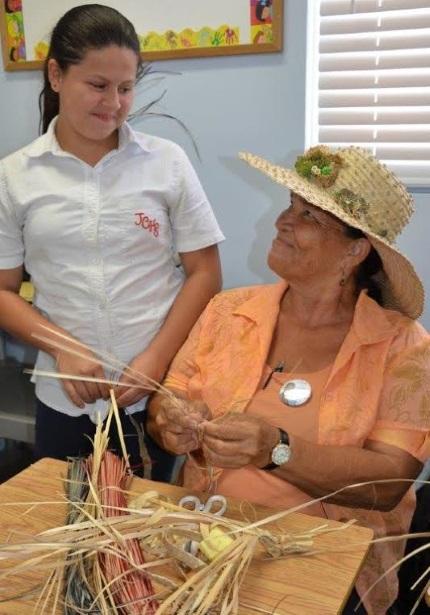 CTA JGHS Ms Donna teaches Cristal