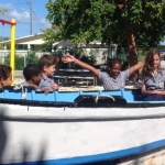 Duppies and catboats liven up school time on Brac