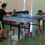 Table tennis tournament on the way