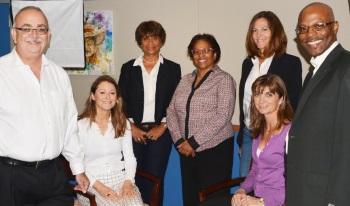 Roy McTaggart MLA, Ms. Christina Rowlandson, Ms. Betty Baraud, Ms. Liz Smith, Mrs. Nancy Barnard, Ms. Jennifer Ahearn and the Rev Dr Dave Hazle
