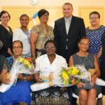 DCFS retirees awarded for service