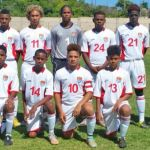 Cayman's U-15 team leads group at CFU championships