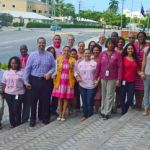 Civil servants go pink for breast cancer awareness