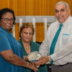 Brac DCFS staff recognised for long service