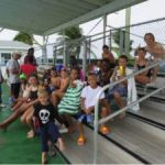 Young Sister Islands swimmers feel the burn
