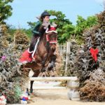 Riding school jumps into late Christmas show