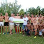 Dready kicks in with rugby fundraiser