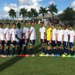 National U-15 football team prepares for CONCACAF tournament