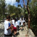 Brac students go to the park for Earth Day