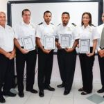Customs welcomes four new officers