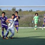 Day two of U-15 football tourney separates leaders