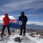 Climbers reach fundraising heights