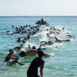 Take the plunge at the season's first sea swim