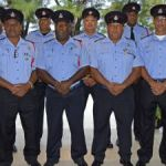 Uniformed officers honoured for long service