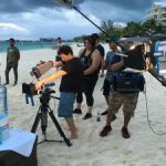 Flowers directs commercials with local crew