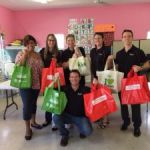 Law firm donates Christmas groceries