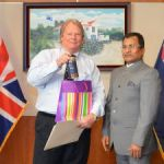 Indian High Commissioner visits Cayman