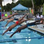 Swimmers dive into national championships
