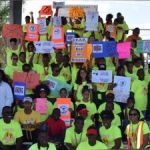 Students march for drug and cancer awareness