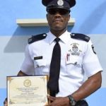 Prison Service officer receives employee award