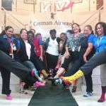 Airline employees 'rock their socks'