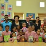 Book donation breathes LIFE into classroom libraries