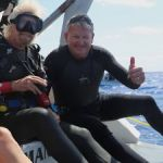 Branson dives to promote grouper protection