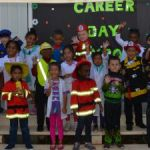 Pre-K kids dress for success at career day
