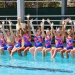 Synchronised swimmers set to make a splash