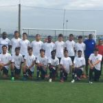 U15 national team trains at Celtic football camp