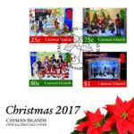 New stamp issue celebrates Christmas in Cayman