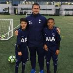 Young footballers gain UK experience
