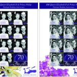 Stamp issue marks royal platinum anniversary