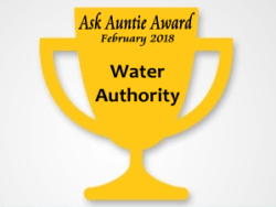 Ask Auntie, Cayman Islands Water Authority