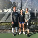 Cayman tennis player enrols at IMG academy
