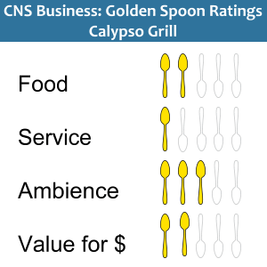Golden Spoons Review of Calypso Grill