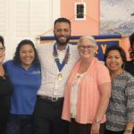 Rotary Sunrise welcomes new president