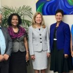 UWI officials visit Cayman