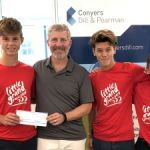 Young kiteboarders get fundraising boost