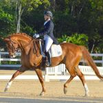 Dressage riders enjoy day of firsts