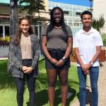 Trinity awards scholarship to two Cayman students