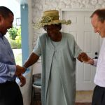 Governor visits George Town constituencies