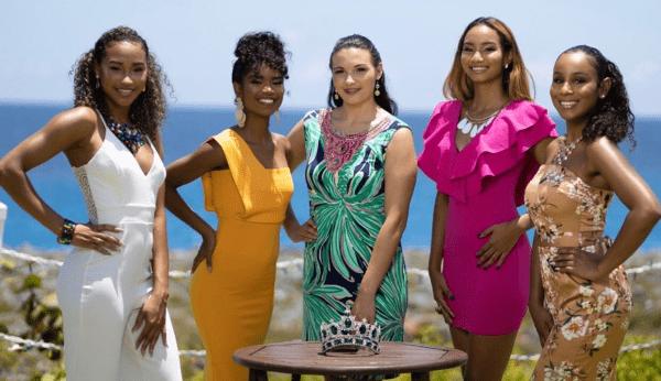 Miss World Cayman contestants