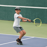 Young tennis players compete in PwC Junior Circuit